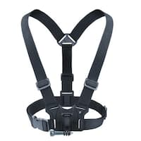 Chest Harness Action Cam Mount by USA Gear - Works with GoPro Hero4 , HTC , Drift and More Cameras