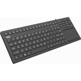 Adesso AKB-270UB Antimicrobial Waterproof Touchpad Keyboard