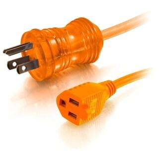 C2G 25ft 16AWG Hospital Grade Power Extension Cable (NEMA 5-15P to NE