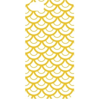 OTM iPhone 6 White Glossy Case Elm Bold Collection, Yellow