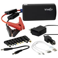 Weego Jump Starter Battery Pack + Heavy Duty