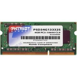 Patriot Memory 4GB PC3-10600 (1333MHz) SODIMM