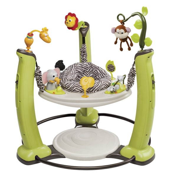 Shop Evenflo Exersaucer Jump And Learn Jungle Quest