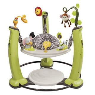Evenflo ExerSaucer Jump and Learn Jungle Quest Stationary Jumper|https://ak1.ostkcdn.com/images/products/9908195/P17066965.jpg?impolicy=medium