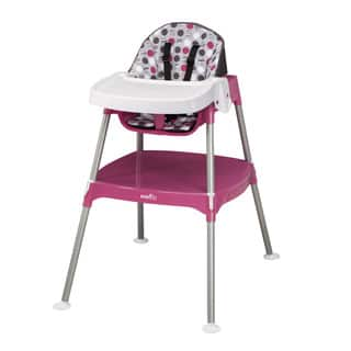 Evenflo Dottie Rose Convertible 3-in-1 High Chair|https://ak1.ostkcdn.com/images/products/9908210/P17066979.jpg?impolicy=medium