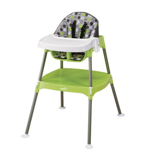 Evenflo Dottie Lime Convertible 3-in-1 High Chair