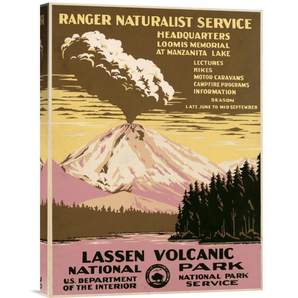 Global Gallery Ranger Naturalist Service 'Lassen Volcanic...