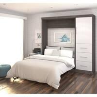 Bestar Nebula 84-inch Full-sized Wall Bed Kit