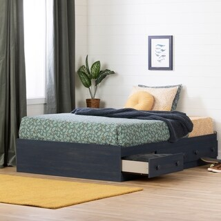 South Shore Summer Breeze Mates Bed with 3 Drawers