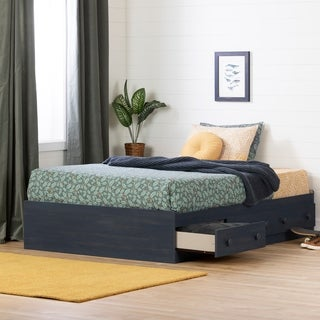 Elegant South Shore Summer Breeze Full Mates Bed With Three Drawers
