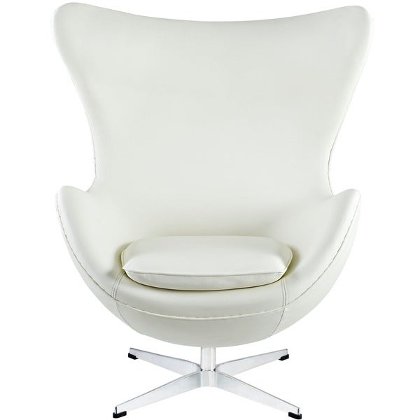 Shop Glove Leather Lounge Chair Free Shipping Today
