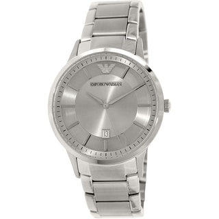 Emporio Armani Men's Classic AR2478 Stainless Steel Swiss Quartz Watch