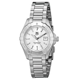 Link to Tag Heuer Women's 'Aquaracer' Stainless Steel Similar Items in Women's Watches