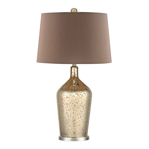 Dimond Lighting Gold Mercury 1-light Glass Bottle Lamp