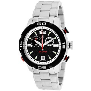 ESQ Men's 7301076 Octane Round Silvertone Bracelet Watch