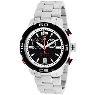 ESQ Men's 7301076 Octane Round Silvertone Bracelet Watch|https://ak1.ostkcdn.com/images/products/9908972/P17067482.jpg?impolicy=medium