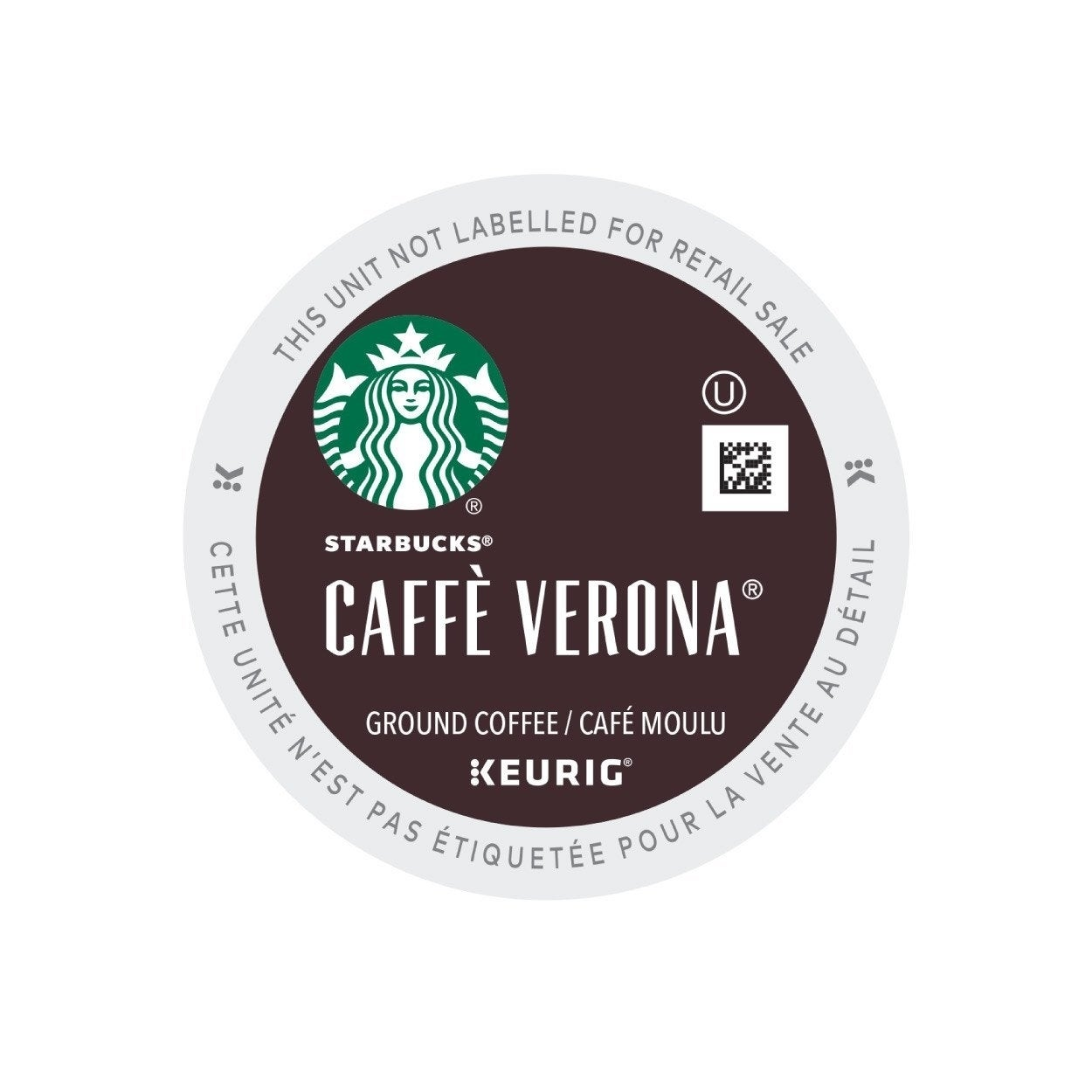 New Brand Starbucks Caffe Verona Coffee K-Cup Portion Pac...