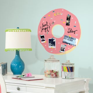 Roommates Doughnut with Sprinkles Peel and Stick Giant Wall Decal