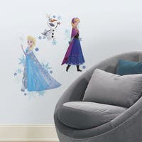 Roommates Frozen Peel and Stick Giant Wall Decal