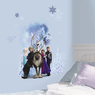 Roommates Disney Frozen Winter Burst Peel and Stick Giant Wall Decal