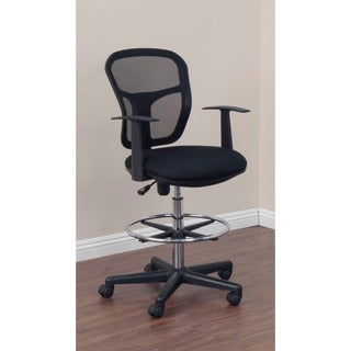 Studio Designs Riviera Black Drafting Chair