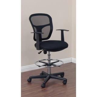 Studio Designs Riviera Black Drafting Chair|https://ak1.ostkcdn.com/images/products/9909062/P17067501.jpg?impolicy=medium