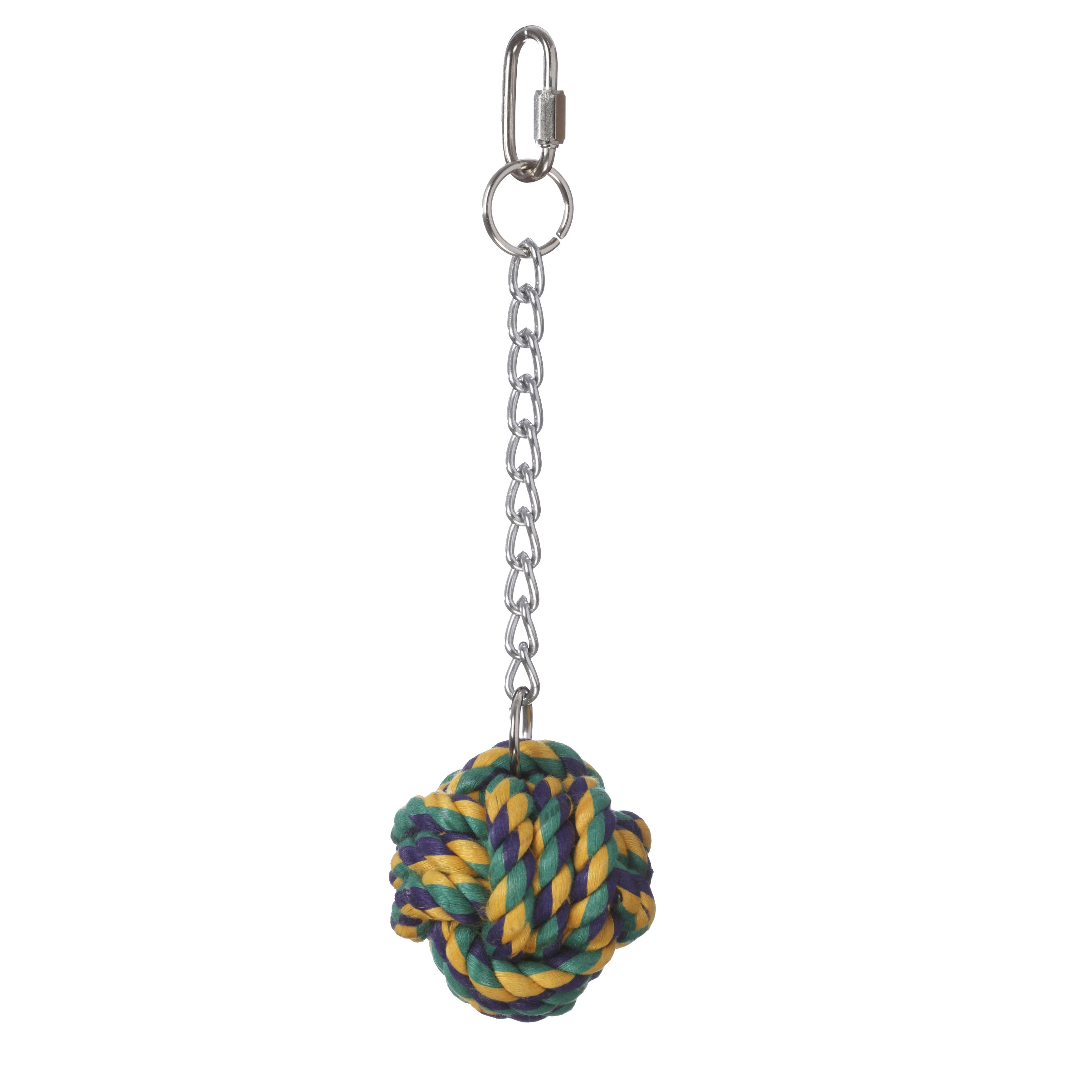 Multipet Nuts for Knots Ball on a Chain Bird Toy (Ball on...
