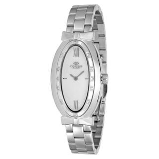 Oniss Women's Zapiro Oval Collection Stainless Steel Watch