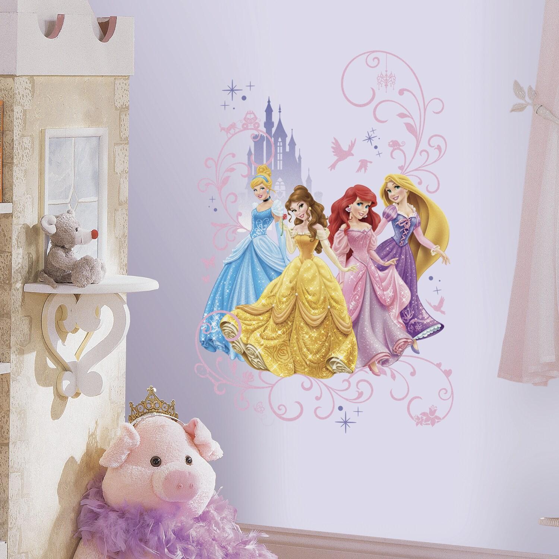 RoomMates Disney Princess Wall Graphix Peel and Stick Gia...