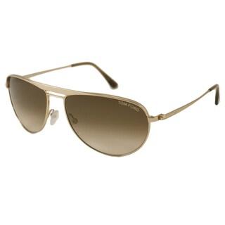 Tom Ford Men's TF0207 William Aviator Sunglasses