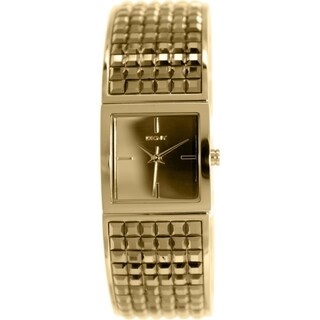 Dkny Women's Bryant NY2231 Goldtone Stainless Steel Quartz Watch