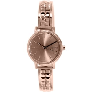 Dkny Women's NY2279 Rose Gold Stainless Steel Quartz Watch