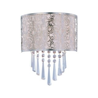Maxim Rapture Nickel 2-light Wall Sconce