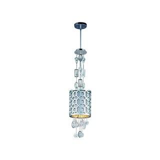 Maxim Symmetry Nickel 1-light Mini-pendant