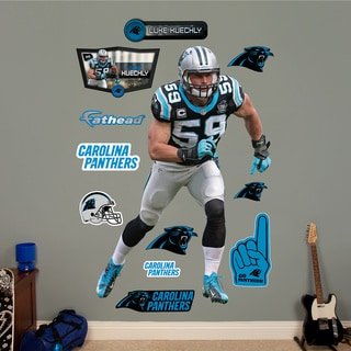 Fathead Luke Kuechly - Linebacker Wall Decals