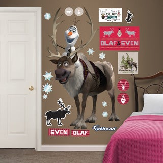 Fathead Frozen Sven & Olaf Wall Decals