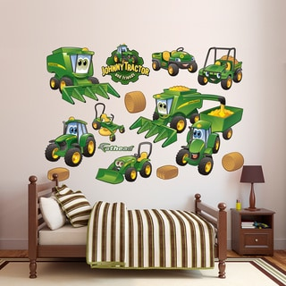 Fathead John Deere Johnny Tractor Farming Collection Wall Decals