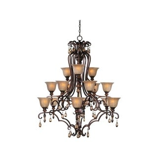 Maxim Dresden Other 15-light Multi Tier Chandelier