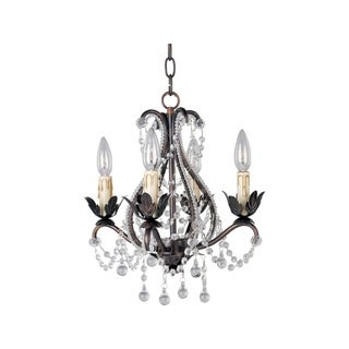 Maxim Katherine Bronze 4-light Mini Chandelier