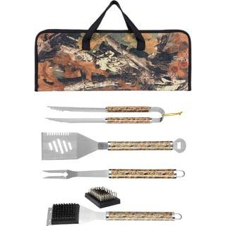 BR 6-piece Camo Grill Tool Set