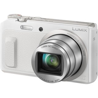 Panasonic Lumix DMC-ZS45 16 Megapixel Compact Camera - White