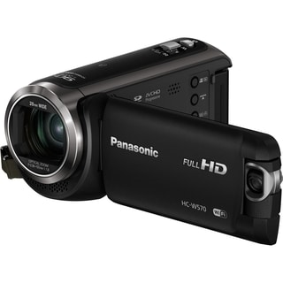 "Panasonic HC-W570 Digital Camcorder - 3"" LCD - MOS - Full HD - Black"