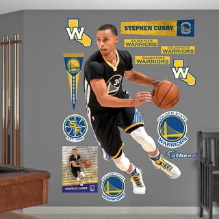 Fathead Stephen Curry - Point Guard Wall Decals