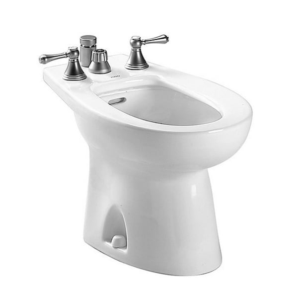 Toto Cotton White Piedmont Vertical Spray Bidet Free