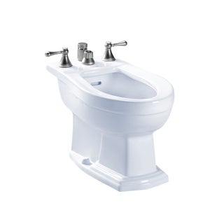 Toto Clayton Vertical Spray Cotton Bidet