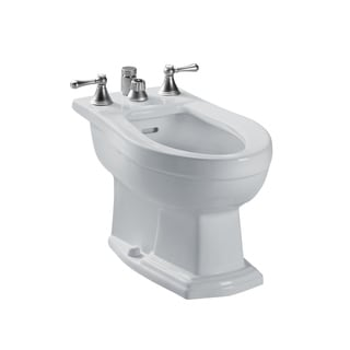 Toto Clayton Vertical Spray Colonial White Bidet