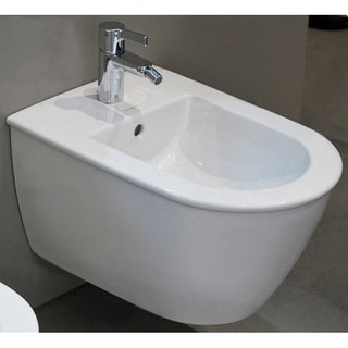 Duravit White Alpin Darling New Wall Mounted Bidet