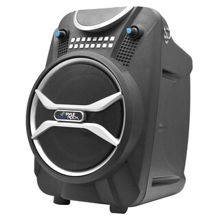 Pyle Boom Rock PWMAB210BK Speaker System - 200 W RMS - Portable - Bat