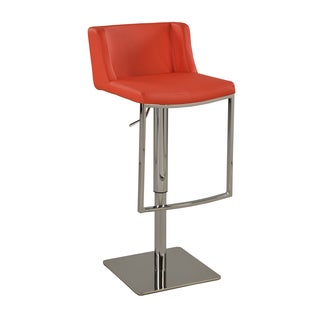 Christopher Knight Home Red Contemporary Pneumatic Stool