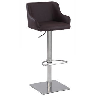 Christopher Knight Home Brown Pneumatic Gas Lift Stool